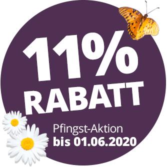 11 Prozent Rabatt