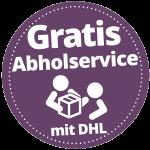 Gratis Abholservice durch DHL