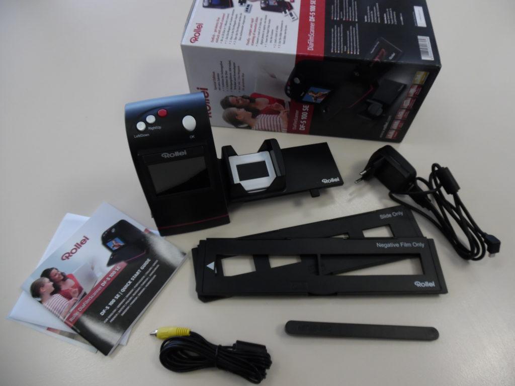 Portabler Diascanner von Rollei