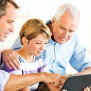 Wir verewigen Ihre Familiendias