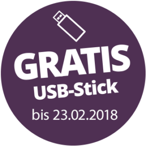 Gratis-USB-Stick bis 23.02.2018