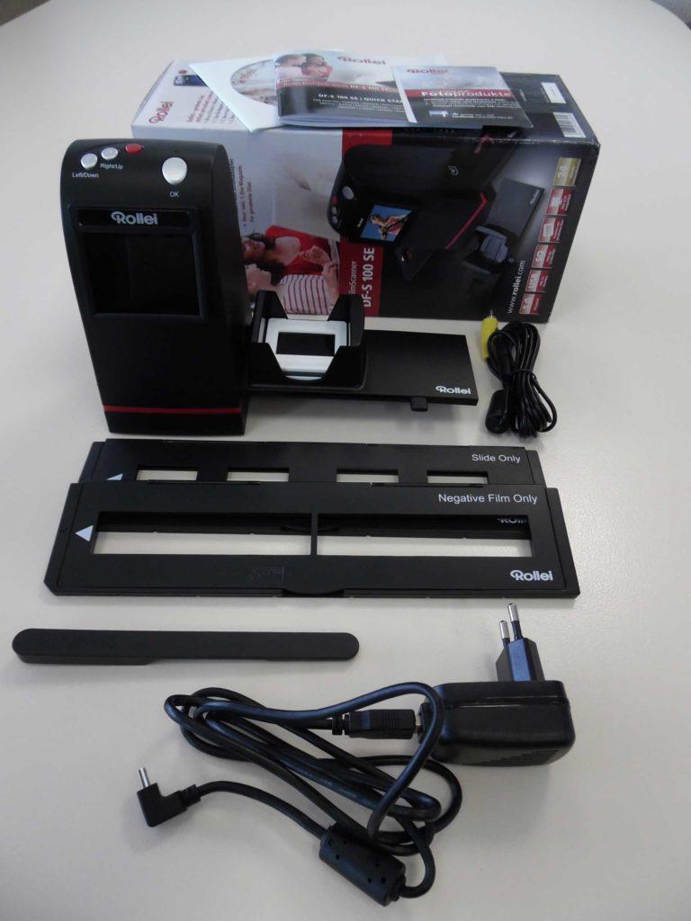 diascanner test rollei diafilm scanner df s 100 se. Black Bedroom Furniture Sets. Home Design Ideas