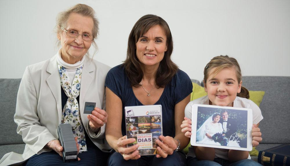 Dias digitalisieren und zum Muttertag Erinnerungen verschenken
